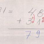 004.1 - Matemática, aritmética. Adição de números com vários algarismos (dois números).