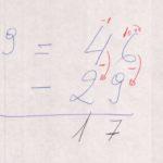 005.2 - Matemática, aritmética. Subtração.