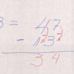 005.1 - Matemática, aritmética. Subtração