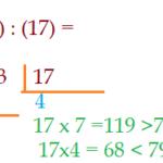 Matemática - Aritmética. Divisão exata e aproximada de números.